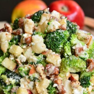 Pear Apple Broccoli Salad
