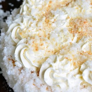 Ultimate Coconut Cheesecake
