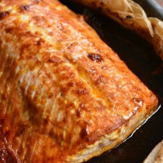 4 Ingredient Orange Salmon