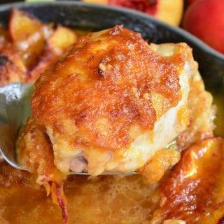 Baked Ginger Peach Chicken