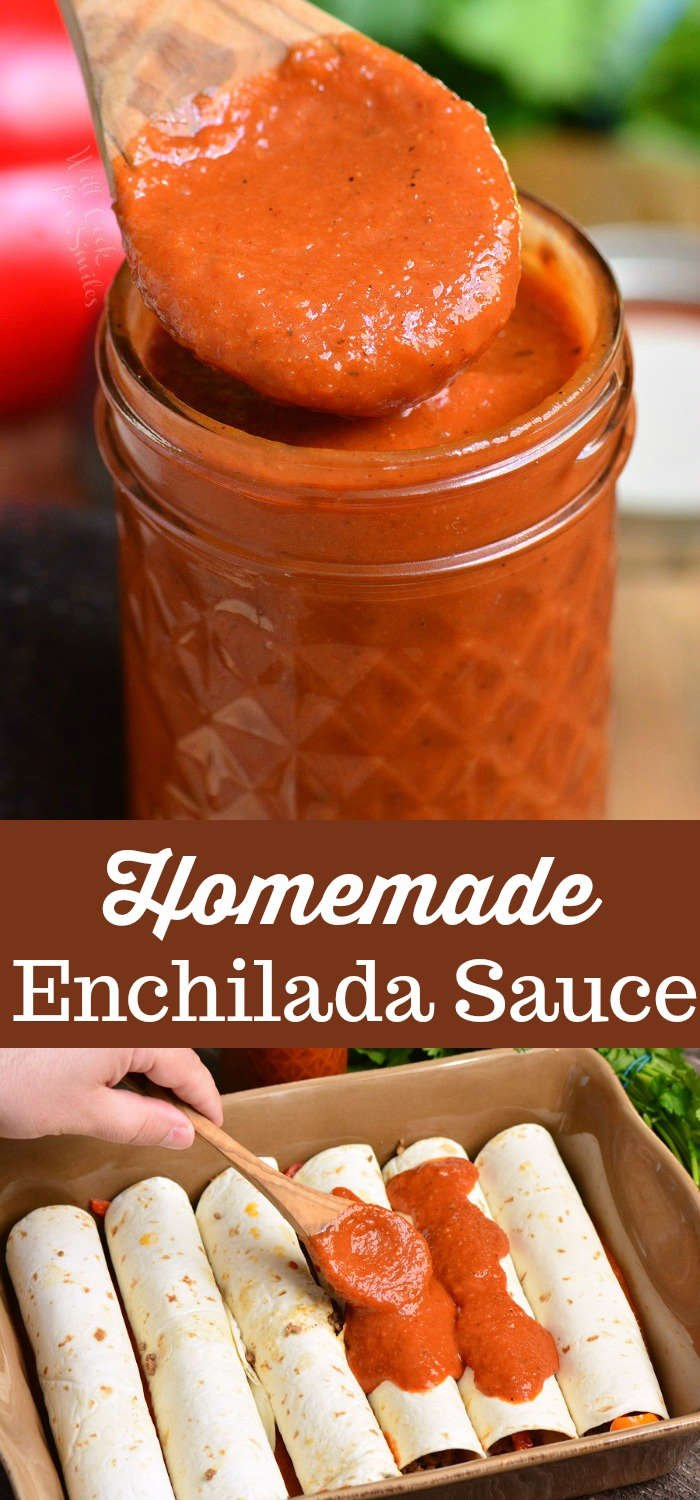 Enchilada Sauce Recipe.