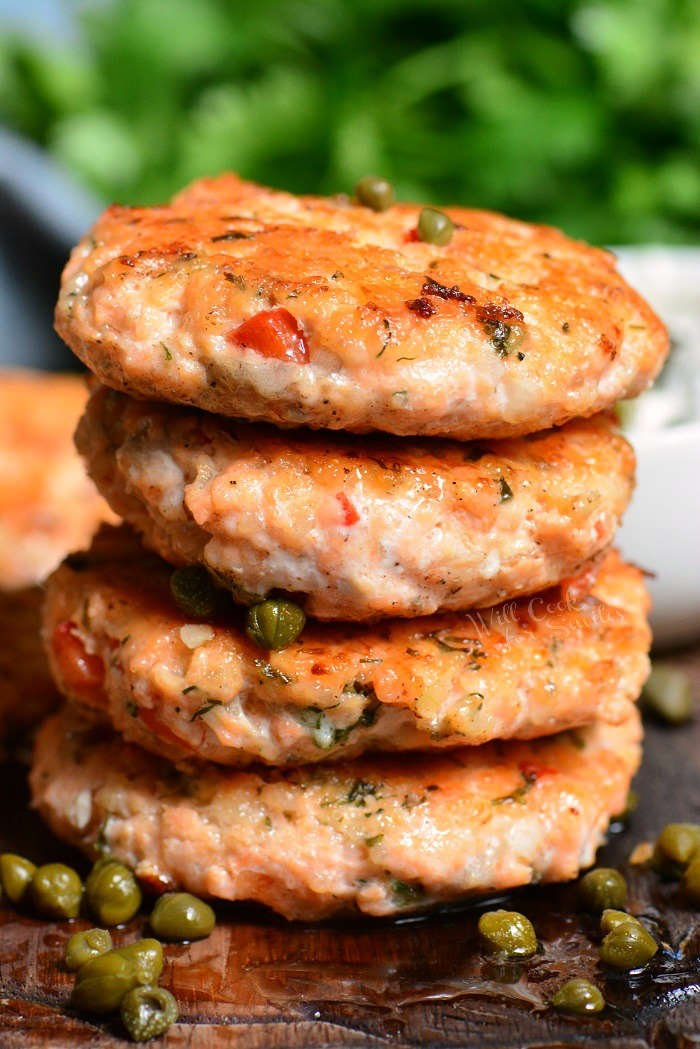 Salmon Patties using fresh salmon