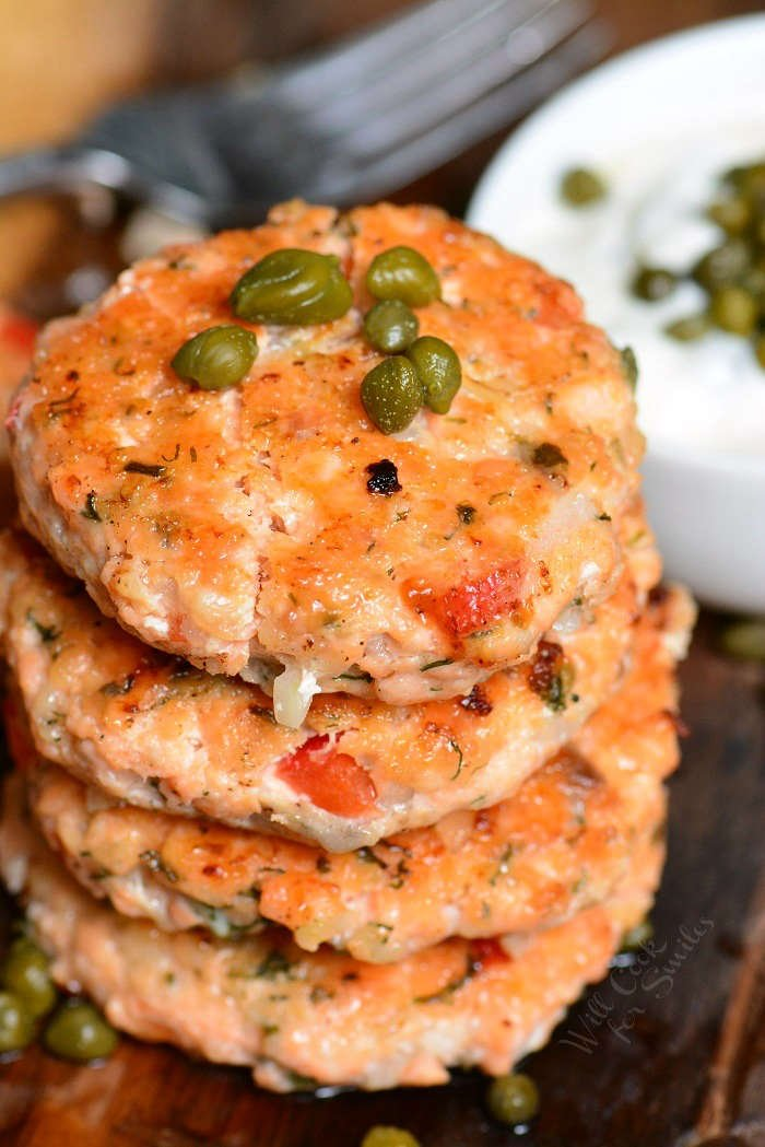 Salmon Patties recipe using fresh salmon