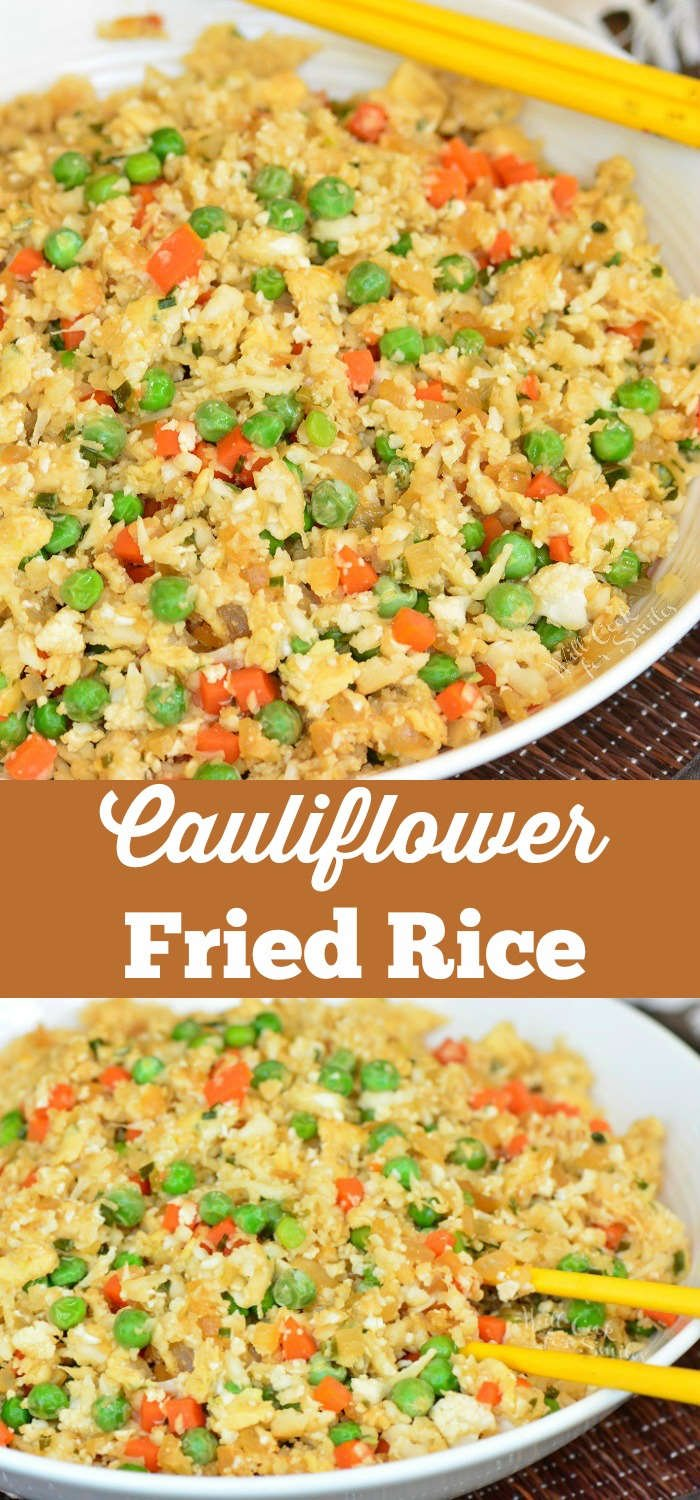 East Cauliflower Fried Rice made in 20 minutes