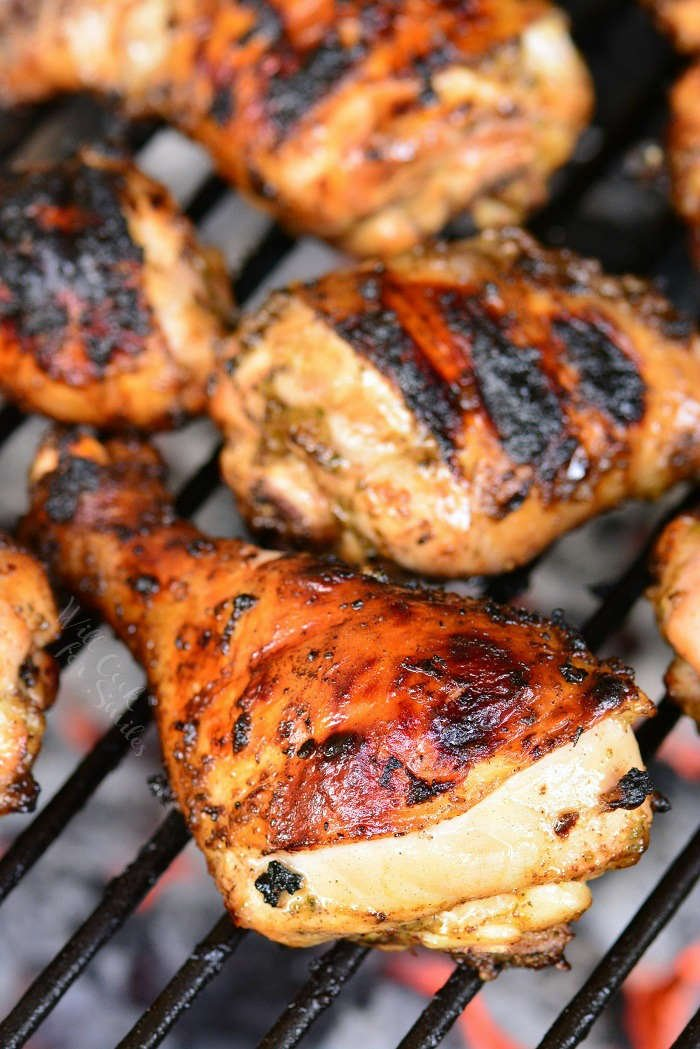 Jerk Chicken on BBQ