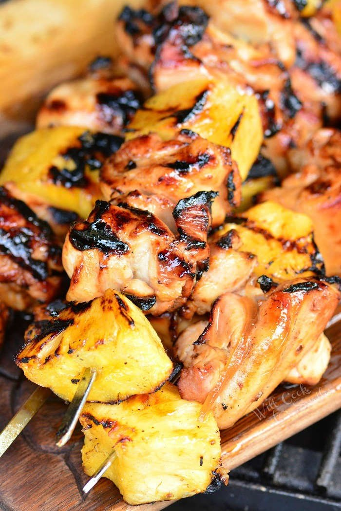 Pineapple Chicken On the grill