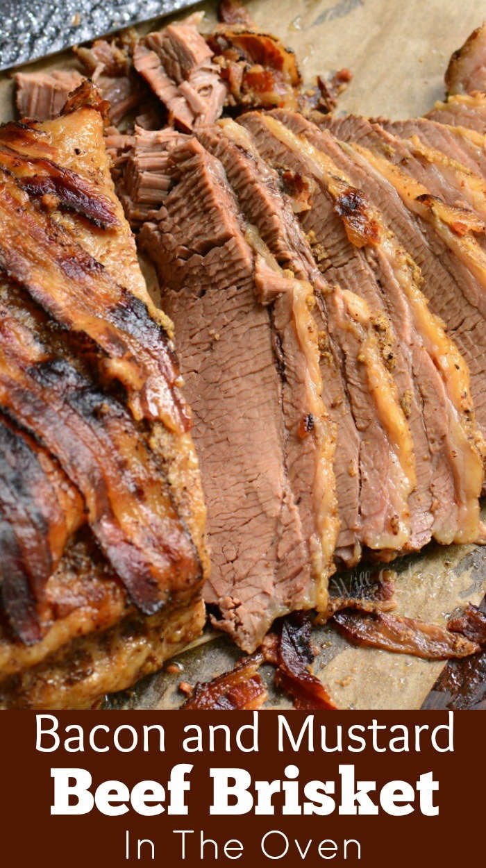 beef brisket sliced
