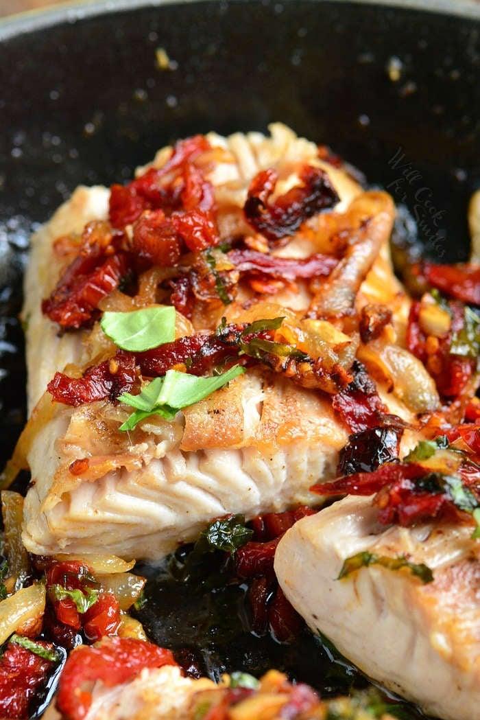 Tomato Basil Mahi Mahi Recipe Will Cook For Smiles