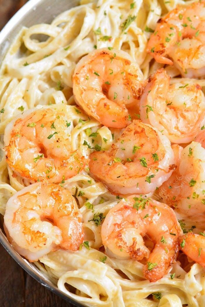 Shrimp Alfredo Easy Creamy And Comforting Classic Dish