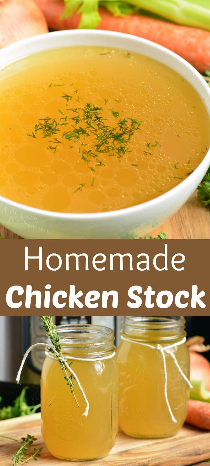 chicken stock collage