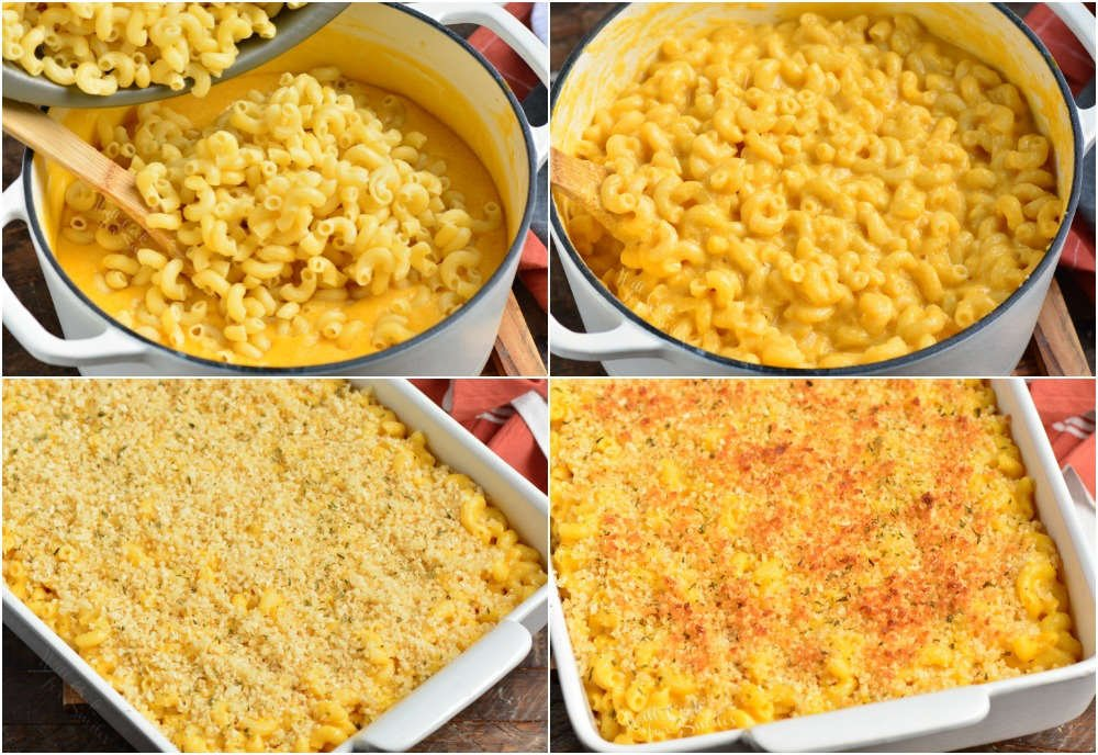 steps to make mac and cheese
