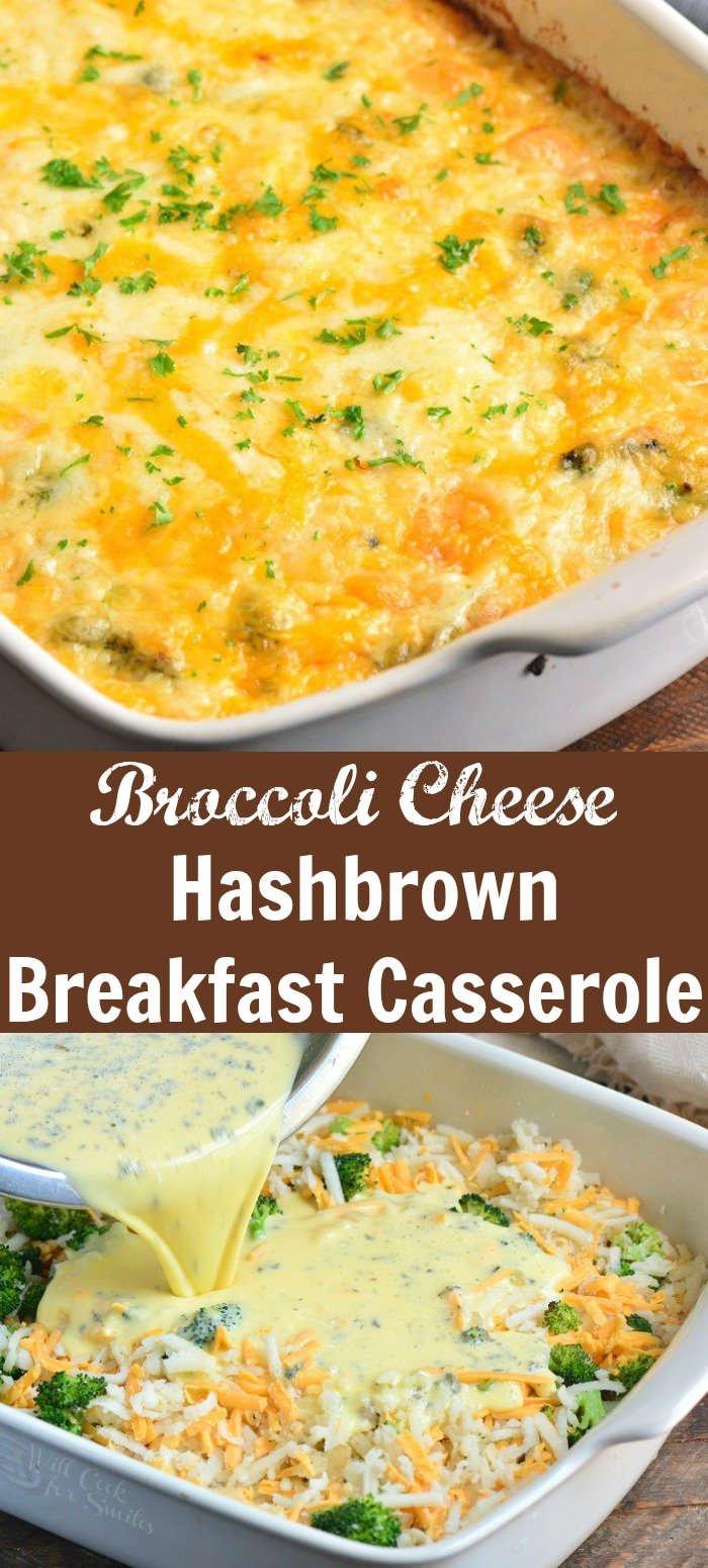 Hash Brown Breakfast Casserole collage