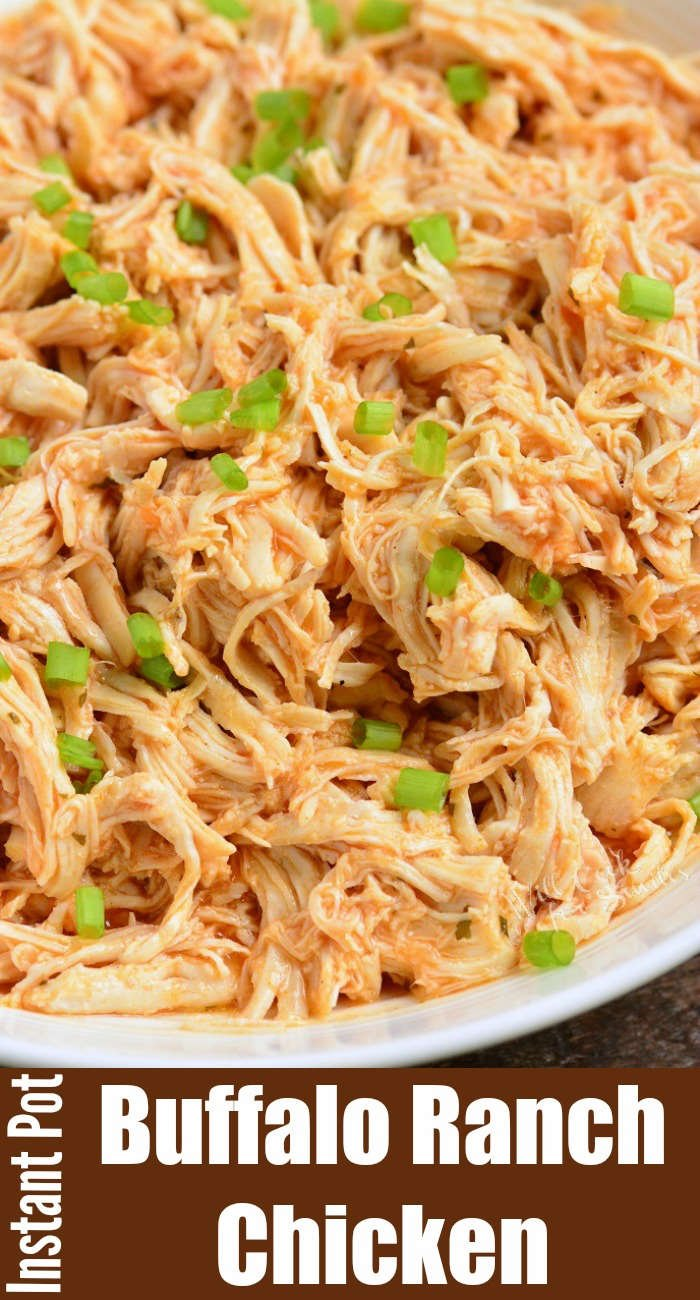 buffalo shredded chicken