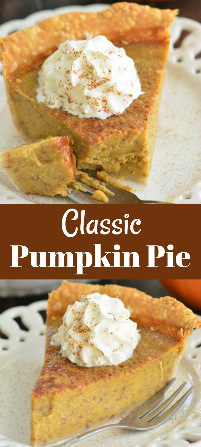 Pumpkin pie collage
