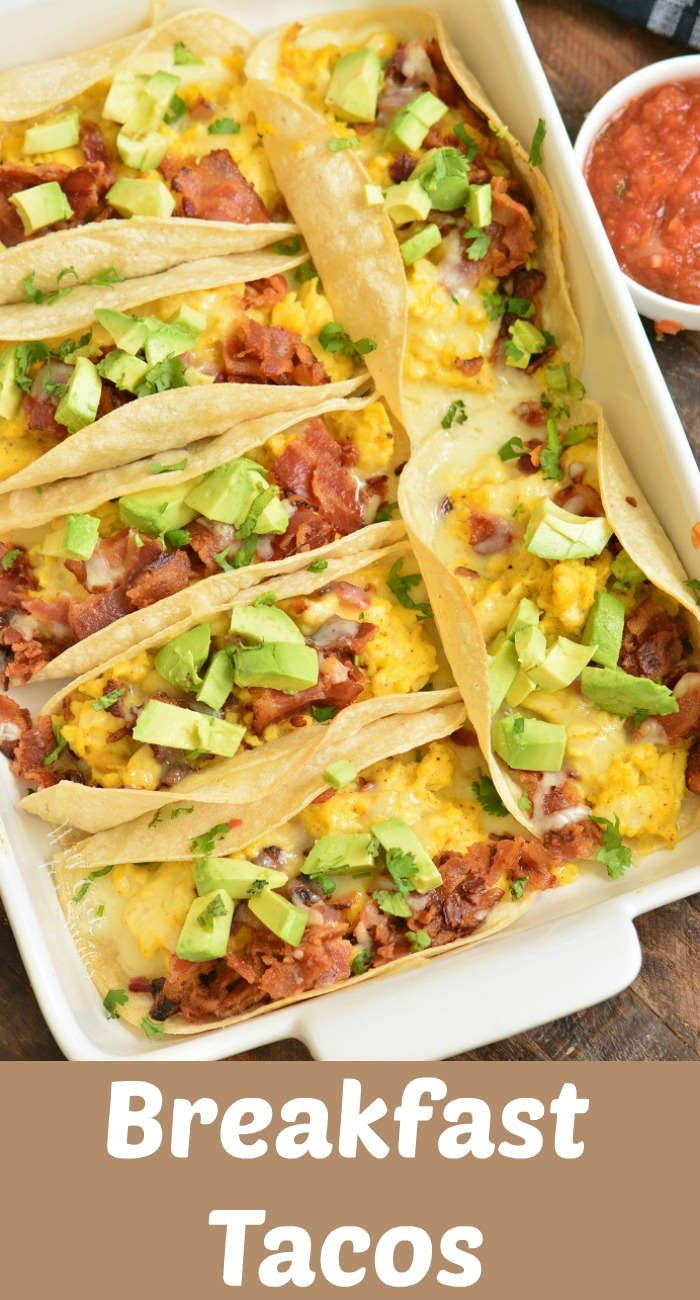 Baked Breakfast Tacos Will Cook For Smiles