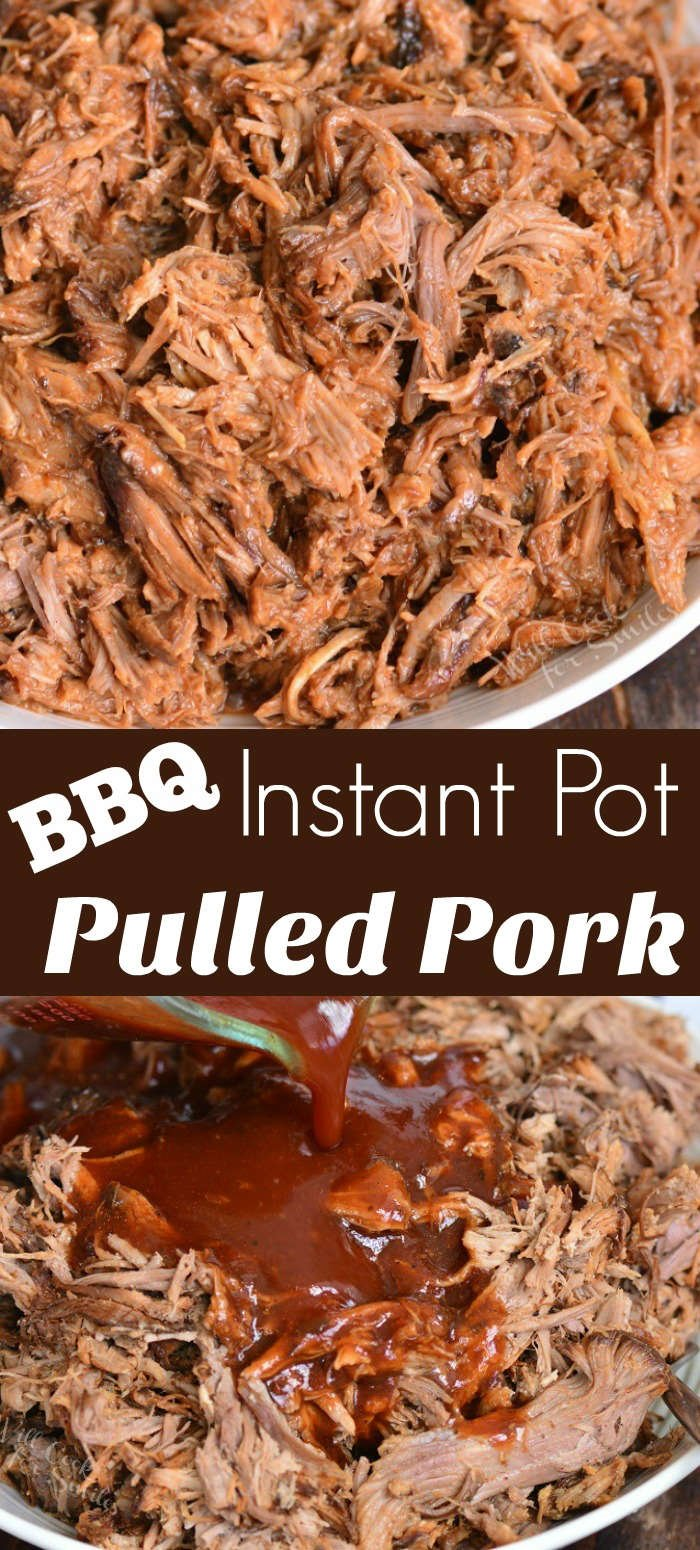 Pulled pork collage