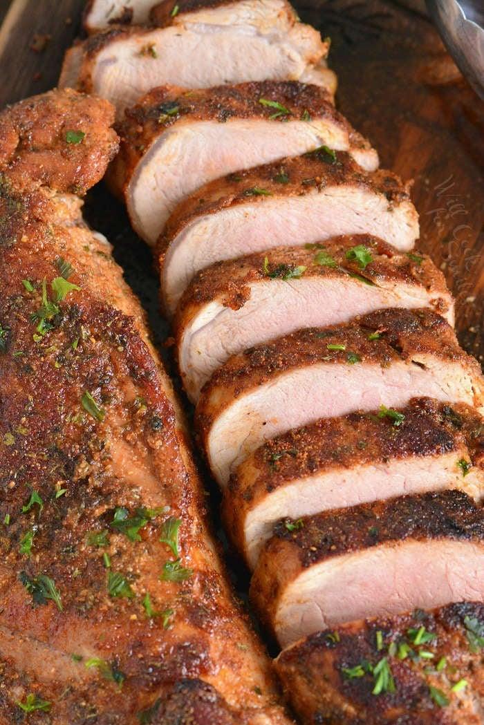 Roasted Pork Tenderloin With Pork Rub Will Cook For Smiles