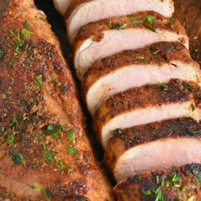 Roasted Pork Tenderloin with Pork Rub