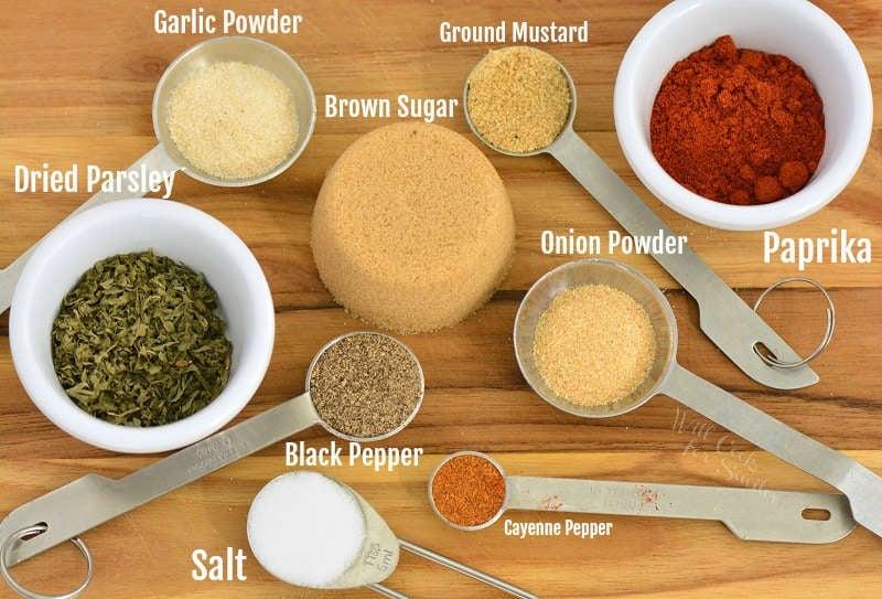 pork seasoning ingredients