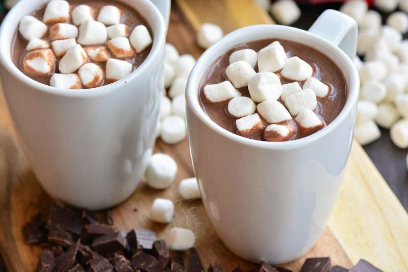 hot chocolate horizontal