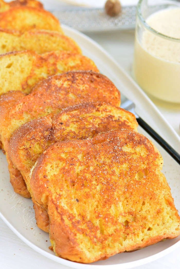eggnog french toast horizontal