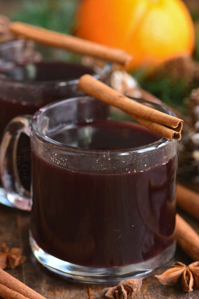 mulled wine, closer picture