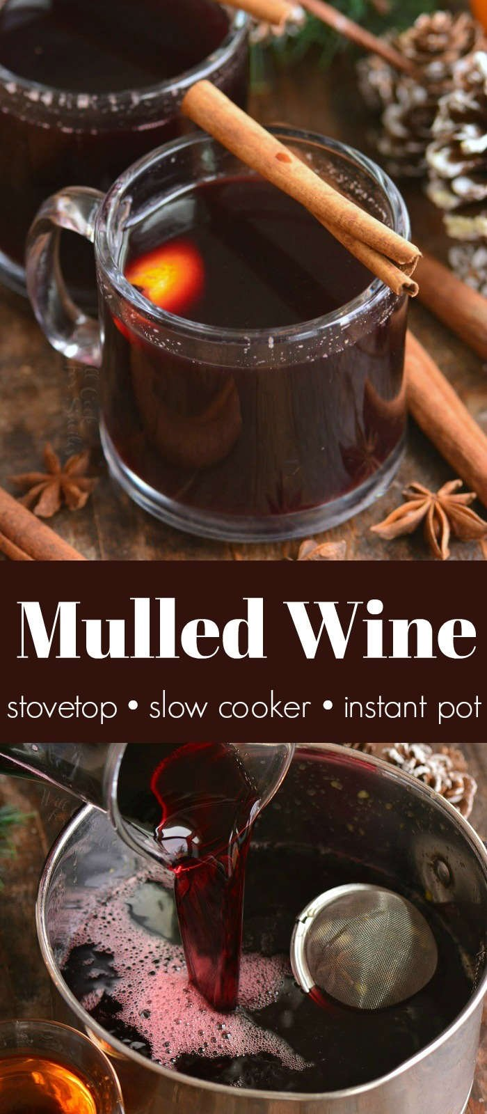 mulled wine collage