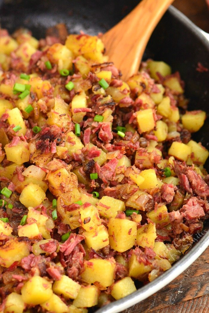 Corned Beef Hash Will Cook For Smiles
