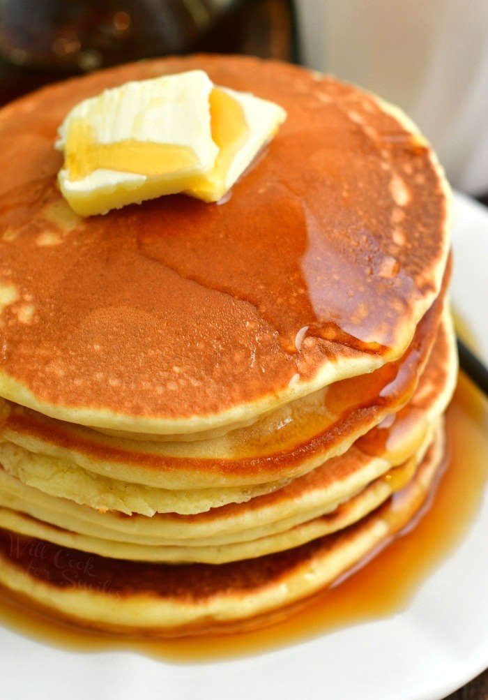 Classic Pancakes Recipe Classic Pancakes From Scratch Are So Quick Easy