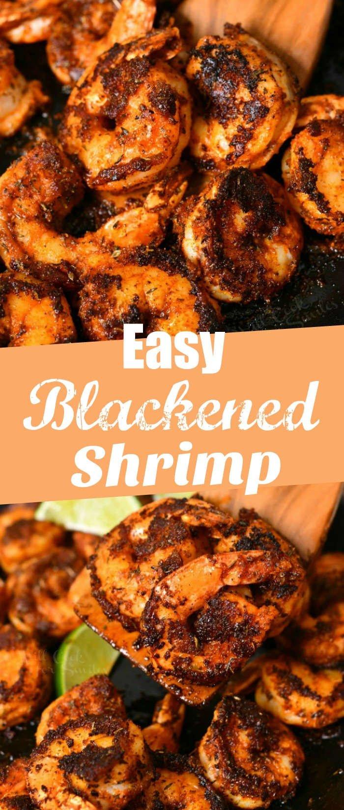 titled photo: Easy Blackened Shrimp